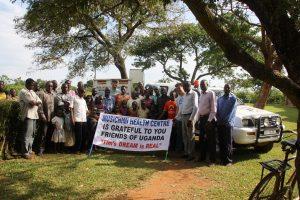 Das Fahrzeug wird künftig den Patiententransport der Musichimi-Klinik im Südosten Ugandas sicherstellen. Der Freundeskreis Uganda aus Geislingen hat es ans Ziel gebracht. © Foto: Freundeskreis Uganda